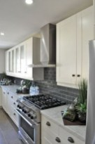 72 Beautiful Kitchen Countertop Ideas with White Cabinets Look Luxurious 2257