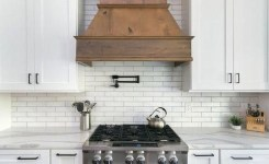 72 Beautiful Kitchen Countertop Ideas With White Cabinets Look Luxurious 68