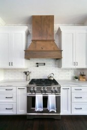72 Beautiful Kitchen Countertop Ideas with White Cabinets Look Luxurious 2261
