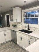 72 Beautiful Kitchen Countertop Ideas with White Cabinets Look Luxurious 2202