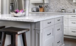 83 Grey Kitchen Wood Island Tips To Designing It Look Luxurious 25