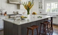 83 Grey Kitchen Wood Island Tips To Designing It Look Luxurious 28