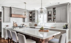83 Grey Kitchen Wood Island Tips To Designing It Look Luxurious 3