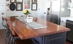 83 Grey Kitchen Wood Island Tips To Designing It Look Luxurious 32