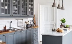 83 Grey Kitchen Wood Island Tips To Designing It Look Luxurious 61