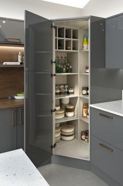 91 Amazing Kitchen Cabinet Design Ideas for A Small Space 2135