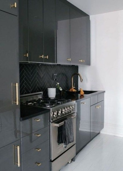 91 Amazing Kitchen Cabinet Design Ideas for A Small Space 2186