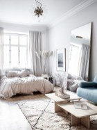 92 Amazing Living Room Designs and Ideas for Your Studio Apartment 2820