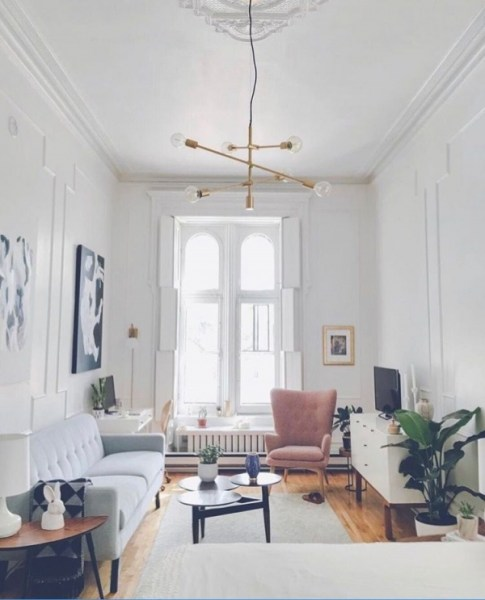 92 Amazing Living Room Designs and Ideas for Your Studio Apartment 2835
