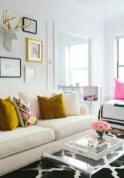 92 Amazing Living Room Designs and Ideas for Your Studio Apartment 2840