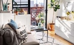 92 Amazing Living Room Designs And Ideas For Your Studio Apartment 4