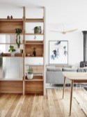 92 Amazing Living Room Designs and Ideas for Your Studio Apartment 2851