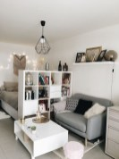 92 Amazing Living Room Designs and Ideas for Your Studio Apartment 2812