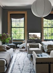92 Amazing Living Room Designs and Ideas for Your Studio Apartment 2862