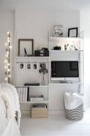 92 Amazing Living Room Designs and Ideas for Your Studio Apartment 2869