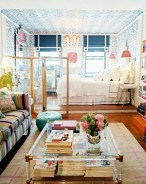 92 Amazing Living Room Designs and Ideas for Your Studio Apartment 2891