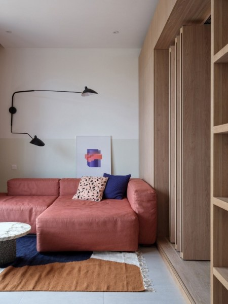 92 Amazing Living Room Designs and Ideas for Your Studio Apartment 2892