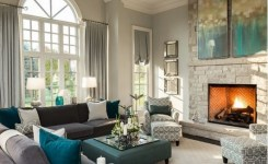 92 Beautiful Living Room Ceilings For Your Living Room Design Inspiration 2