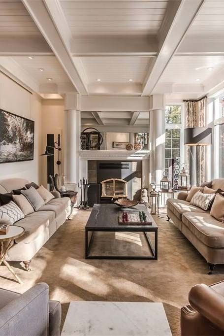 92 Beautiful Living Room Ceilings for Your Living Room Design Inspiration 4163