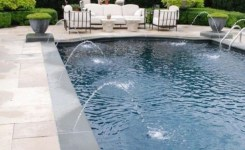 97 Most Popular Backyard Designs With Pool Ideas 94