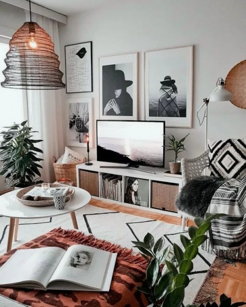 98 Modern Bohemian Living Room Ideas Look Luxurious 2964