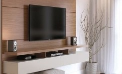 55 Tv Feature Wall Design Ideas 14