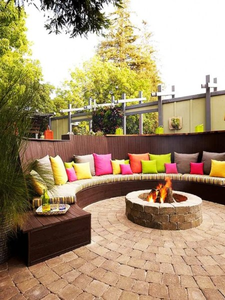 69 Backyard Firepit Design that Inspires - How to Improve Your Landscape with A Backyard Firepit 6458