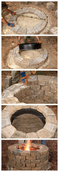 69 Backyard Firepit Design that Inspires - How to Improve Your Landscape with A Backyard Firepit 6468