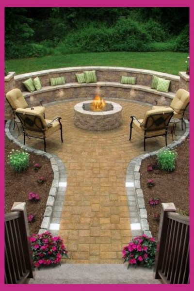 69 Backyard Firepit Design that Inspires - How to Improve Your Landscape with A Backyard Firepit 6425