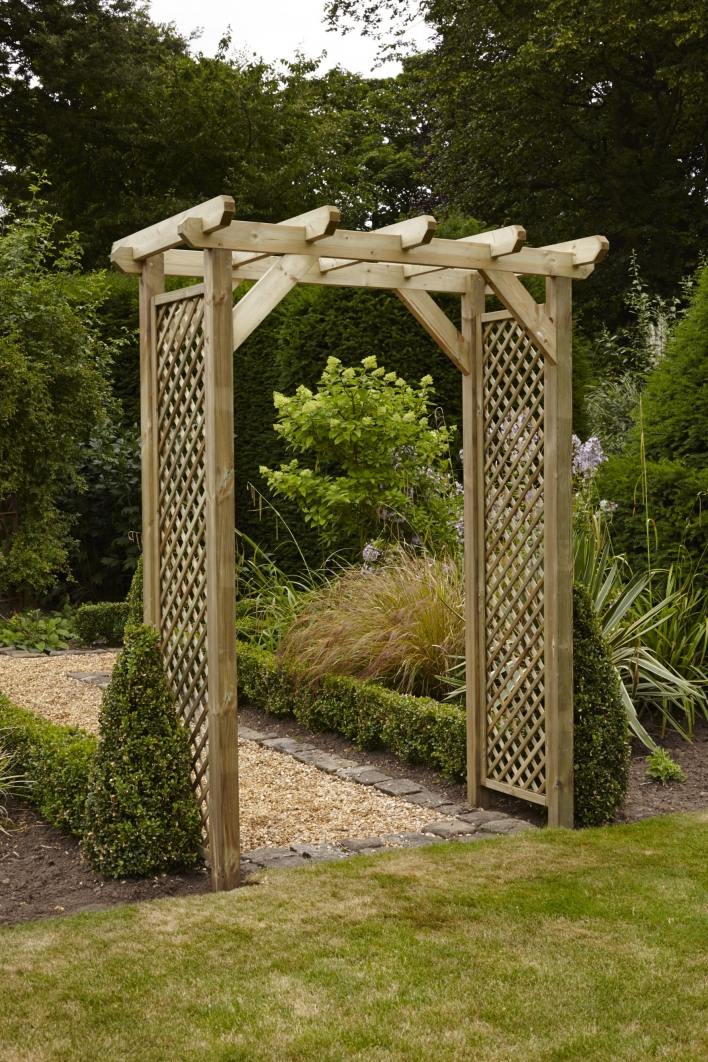 84 Backyard Decoration Ideas for Transform Your Backyard with A Quality Wood Pergola or Arbor 6339