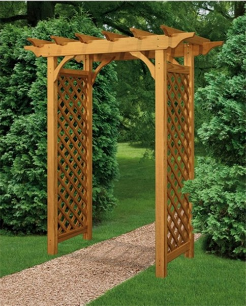 84 Backyard Decoration Ideas for Transform Your Backyard with A Quality Wood Pergola or Arbor 6342