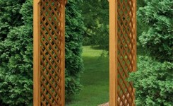84 Backyard Decoration Ideas For Transform Your Backyard With A Quality Wood Pergola Or Arbor 13