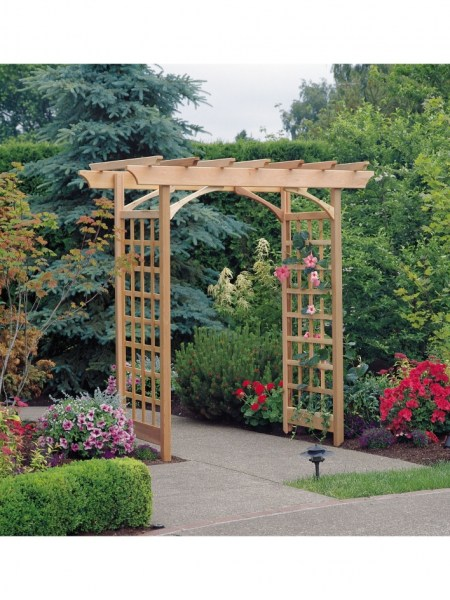 84 Backyard Decoration Ideas for Transform Your Backyard with A Quality Wood Pergola or Arbor 6344