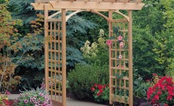 84 Backyard Decoration Ideas For Transform Your Backyard With A Quality Wood Pergola Or Arbor 15