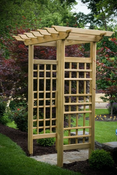 84 Backyard Decoration Ideas for Transform Your Backyard with A Quality Wood Pergola or Arbor 6331