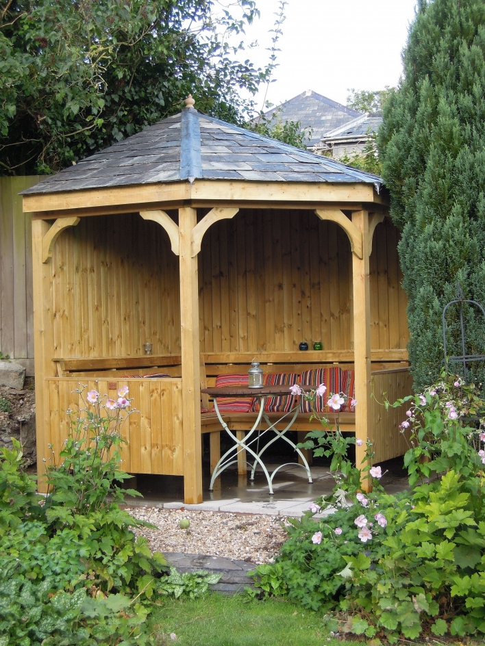 84 Backyard Decoration Ideas for Transform Your Backyard with A Quality Wood Pergola or Arbor 6362