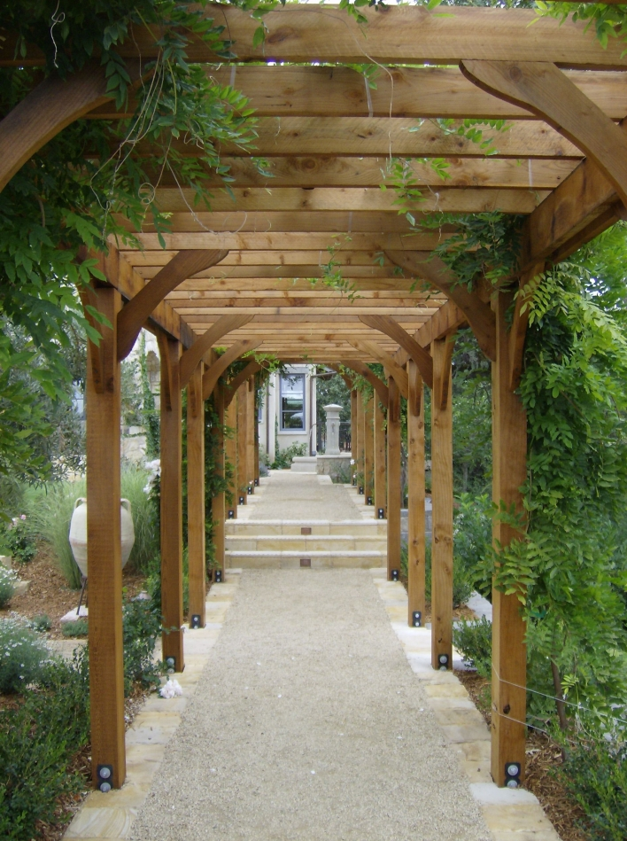 84 Backyard Decoration Ideas for Transform Your Backyard with A Quality Wood Pergola or Arbor 6333