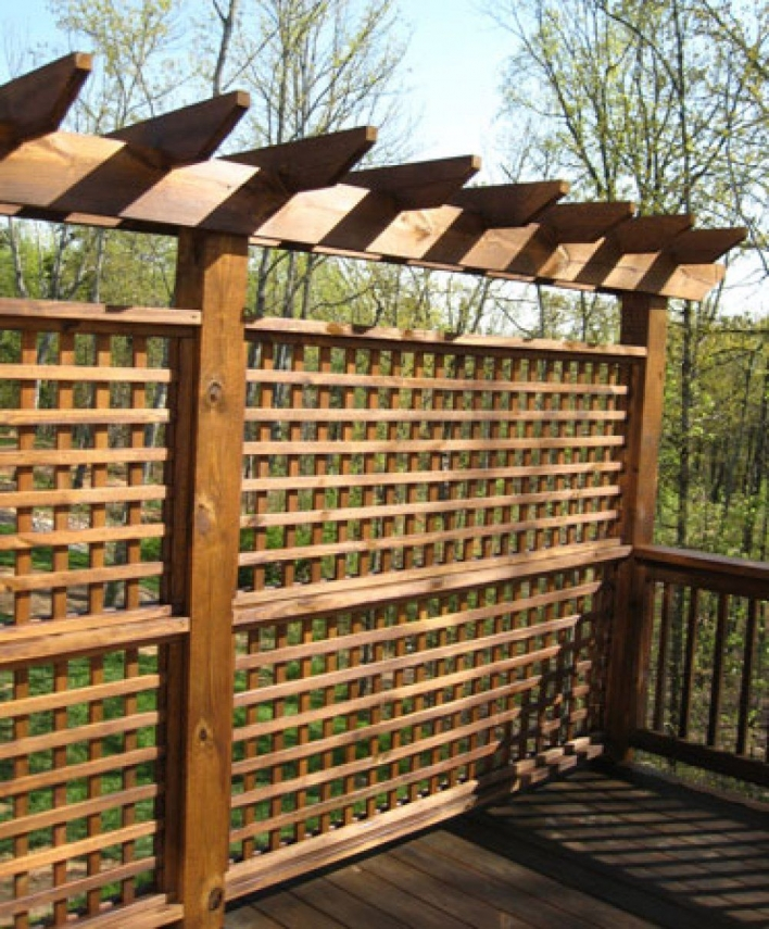 84 Backyard Decoration Ideas for Transform Your Backyard with A Quality Wood Pergola or Arbor 6385