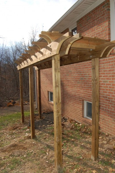 84 Backyard Decoration Ideas for Transform Your Backyard with A Quality Wood Pergola or Arbor 6335