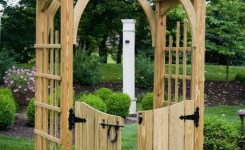 84 Backyard Decoration Ideas For Transform Your Backyard With A Quality Wood Pergola Or Arbor 67