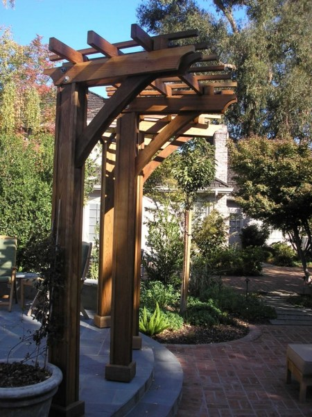 84 Backyard Decoration Ideas for Transform Your Backyard with A Quality Wood Pergola or Arbor 6336