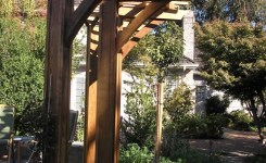 84 Backyard Decoration Ideas For Transform Your Backyard With A Quality Wood Pergola Or Arbor 7
