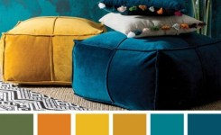 90 Attractive Interior Design Color Schemes From Various Rooms 11