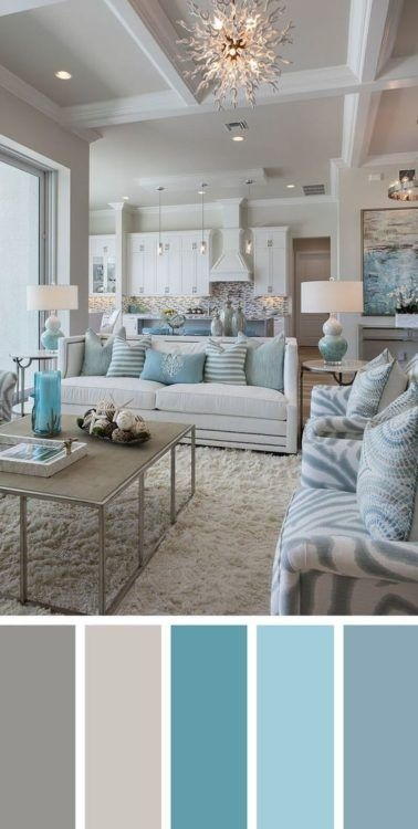 90 attractive Interior Design Color Schemes From Various Rooms 5254