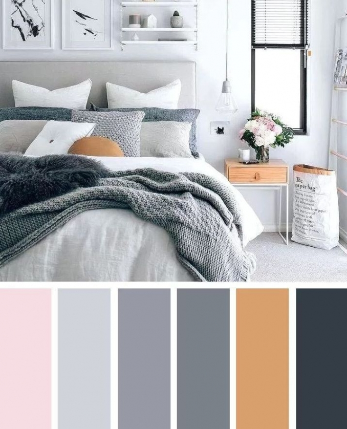 90 attractive Interior Design Color Schemes From Various Rooms 5243