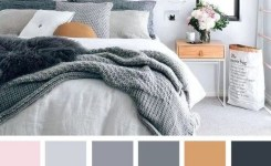 90 Attractive Interior Design Color Schemes From Various Rooms 2