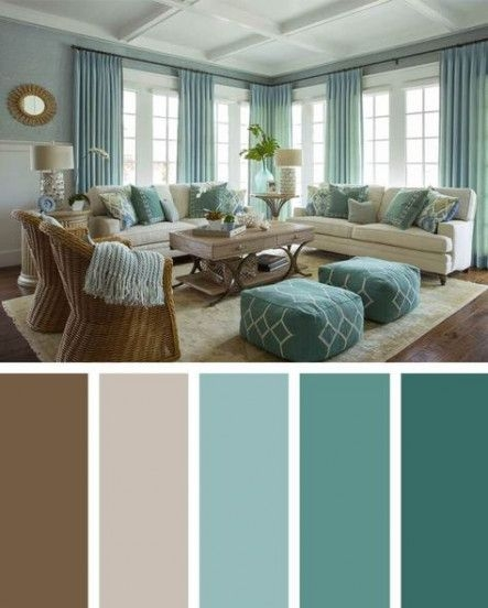 90 attractive Interior Design Color Schemes From Various Rooms 5278
