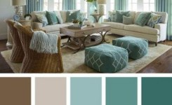 90 Attractive Interior Design Color Schemes From Various Rooms 37