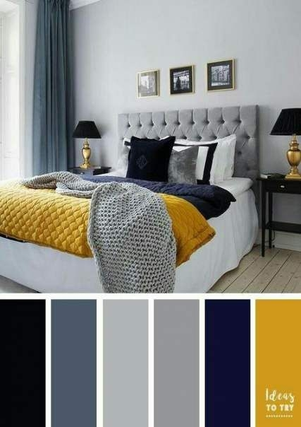 90 attractive Interior Design Color Schemes From Various Rooms 5287
