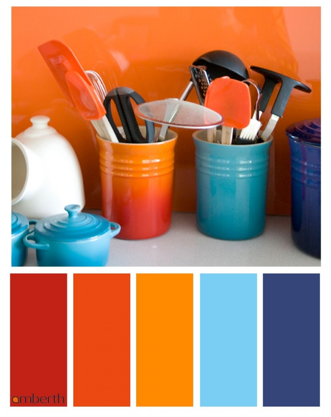 90 attractive Interior Design Color Schemes From Various Rooms 5290